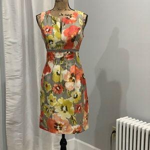 🛍Dressbarn floral dress size 4